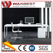 Factory high grade new style double sided office desk