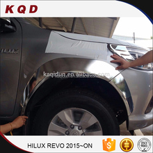 Popular toyota 4x4 chrome accessories chrome abs fender flares for toyota hilux revo