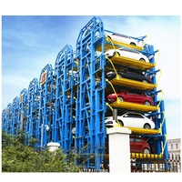 Vertical Electric Uhome Brand Carousel Klaus Tower Fast Access Automatic Smart Rotary Car Parking Lifts System