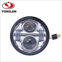 Auto Electrical System 40w led head light lamp round motorcycle light for harley