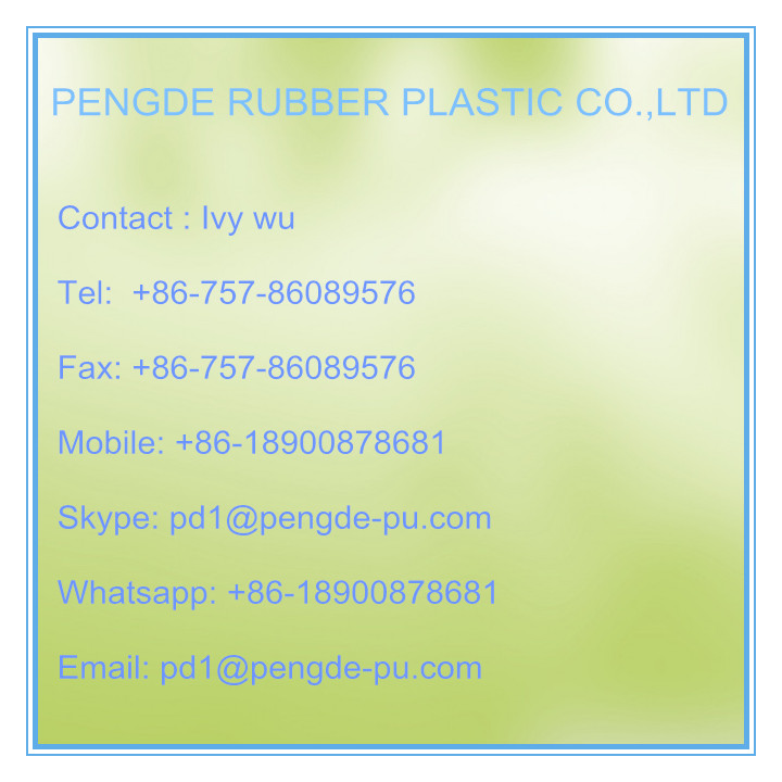 green pvc guide strip for food industry