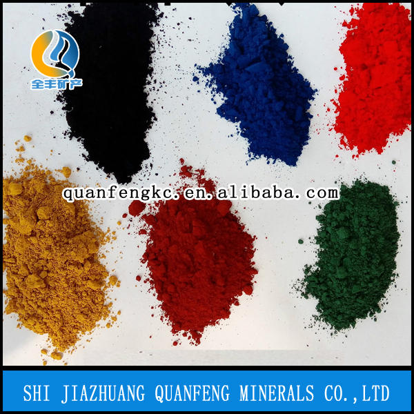 Iron oxide green paste/green iron oxide green pigment for ink