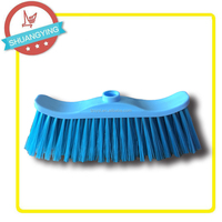 SY3654 Hot sell home or garden cleaning plastic broom head accessories tools