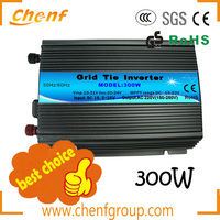 High efficiency intelligent dc/ac power grid tie inverter 300w (CFMGI-300W)