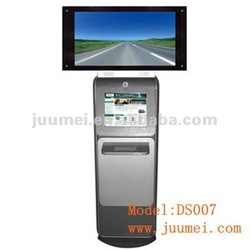 Dual screen cash payment kiosk dual screen kiosk DS007