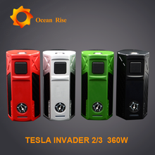 New Arrival Teslacigs 240W/360W Invader 2/3 best electronic cigarette brand Russia