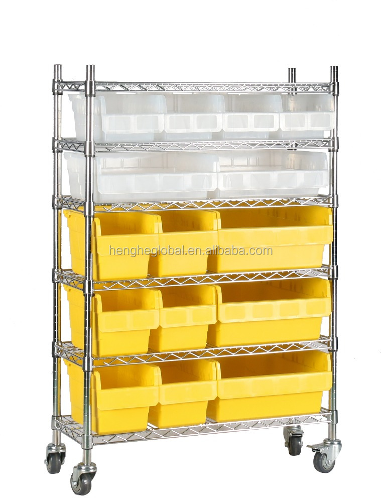 400X300mm cheap industrial plastic picking storage container