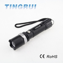 Zoom Ultra Bright Rechargeable Zoomable Police Aluminium Super Max Torchlight