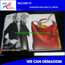 Glossy lamination advertising magazine,product catalog,leaflet,flyer printing