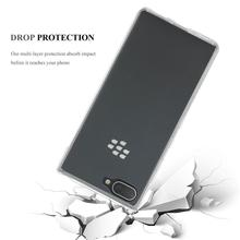 Slim Clear Soft TPU Case Flexible Cover Mobile <strong>Phone</strong> Case For <strong>BlackBerry</strong> Key 2 Lite