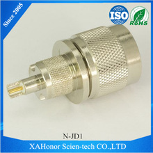 Top Quality 1.6/5.6 male to u shape connector for RG8