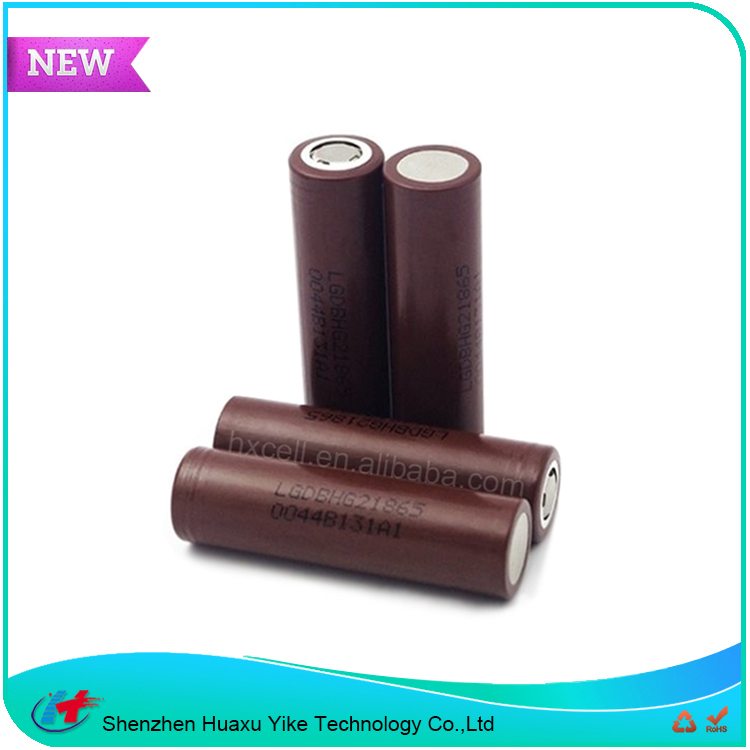 100% Genuine import from Korea High capacity 3000mAh 20a rechargeable li-ion battery lg hg2 18650 3.7v battery