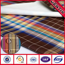 2 Layer Waterproof Breathable PTFE membrane laminated, bonded yarn dye fabric, bonding fabric for outdoor clothing