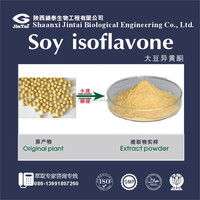 high quality soybean extract 20% 40% soybean genistein