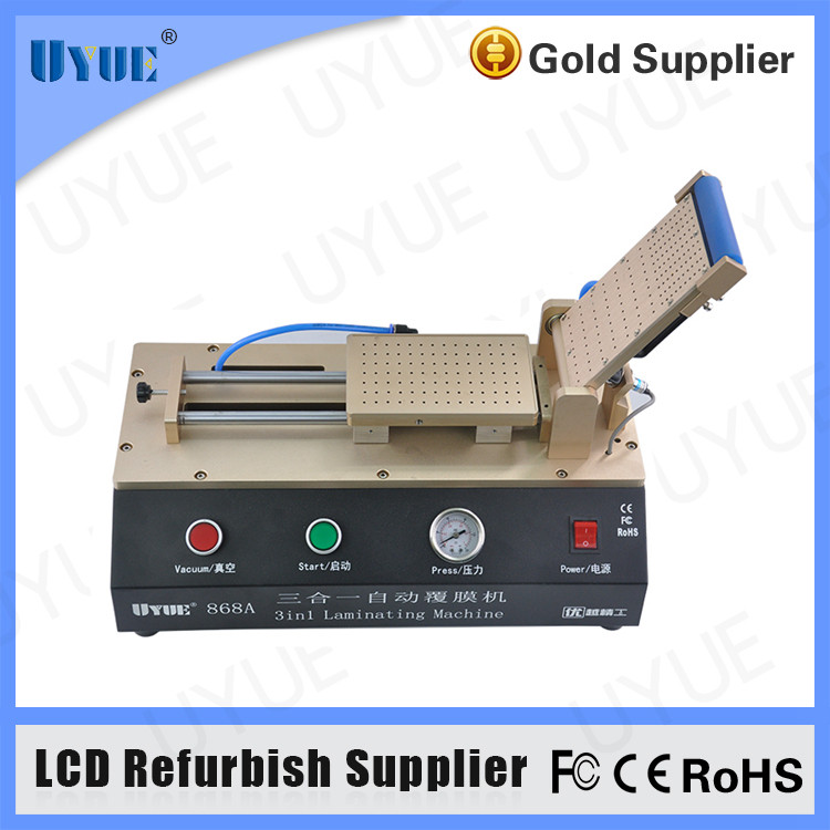 High Quality 3 in 1 Automatic Built-in Vacuum Pump LCD OCA Film Laminating Machine