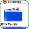 Hot sell 25C 2s lipo battery pack ds 903462-2s 7.4v 1500mah batetry for rc helicopter