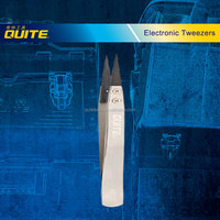 antistatic straight pointed tweezers,changeable head electric tweezers,changeable head tweezers
