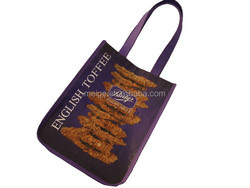 BSCI audit factory zippered tote bag/trendy tote bags/tote bag