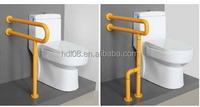Disabled Safe grab bar used for public toilet partition