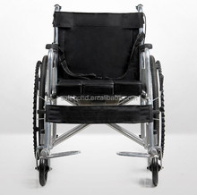 Hot sale most competitive factory price used Steel manual wheelchair with commode