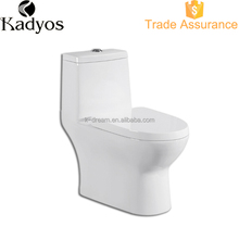 Hospital use one piece s-trap toilet , colored toilet KD-T011P