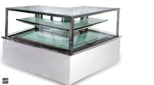 Upright cake showcase/pastry display cabinet/refrigerated cake display case