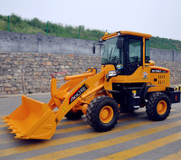 Compact Small Payloader equipment , China Payloader Machine