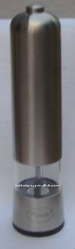 Stainless steel Electric salt and Pepper Mill Model dry spice ginder