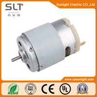 4.29W Max Efficiency Output 12V Small Brush Motor