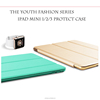 faddish and youth series style liquid silicone case for ipad mini 123