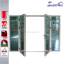WAMA standard China supplier elegent glass office entry doors