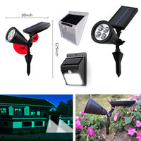 2W solar garden led light wireless solar led garden light