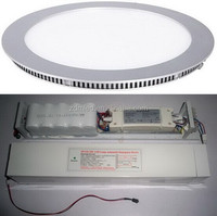 wall mounted LED emergency lights battery operated led light panel