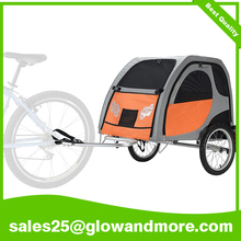 Wholesale Adjustable Dog Bike Trailer