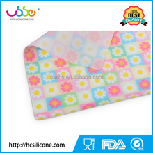 Custom- Print stylish silicone baking mat, Non stick silicone table dinner place mat