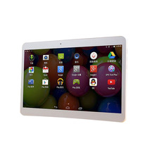 10 Inch GPS WIFI Flash Lights Bluetooth Two Cameras Android Dual Core 3G Tablet PC