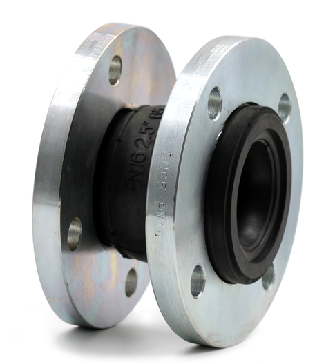 KEFA flexible rubber expansion bellow coupling joint with flange