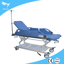 YRT-T02-1 Emergency medical advanced hospital manual patient transport stretcher Transfering Trolley
