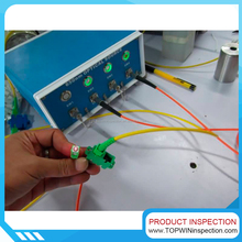 Third party inspection company Fiber optic patch cord Inspection sevice in China