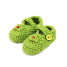 Newborn Toddler Crochet Knit Shoes Boys Girls Shoes Cartoon Boots Baby Shoes