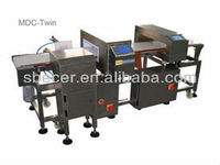 MDC-Twin Double Head Metal Detector Machine For Food Industrial Used