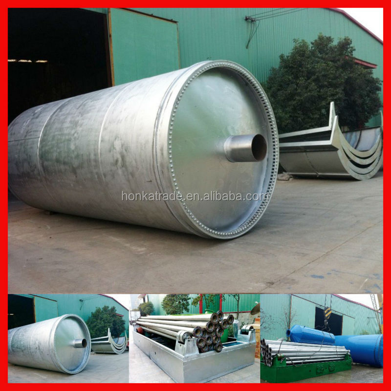 China green semi automatic plastic and tyres scrap to oil