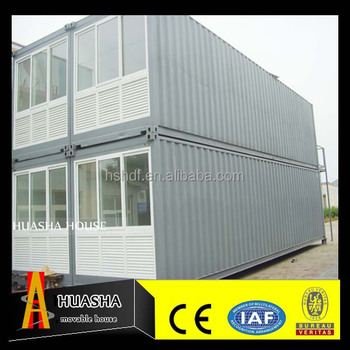 Two storey prefab combined movable house design