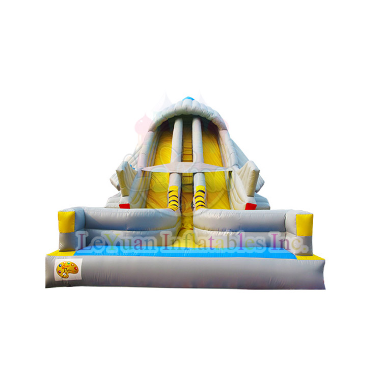 2016 Newest 10x4x7m Airplane Inflatable Slide