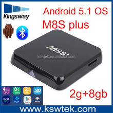 newest kodi full loaded amlogic s812 4k m8s plus m8s android 5.1