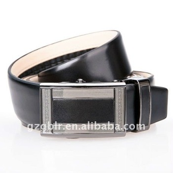 automatic belts,leather belts with alloy automatic belts buckle