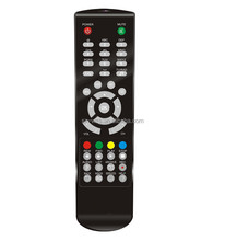 OEM custom LED TV ir remote control with soft feeling rubber button