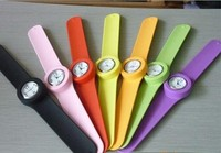 Kids Silicone Slap Watch, Silicone Snap Watch Bands