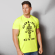 Dry Fit 95% Polyester 5% Spandex Male Polyester Golds Custom Mens Gym T Shirt