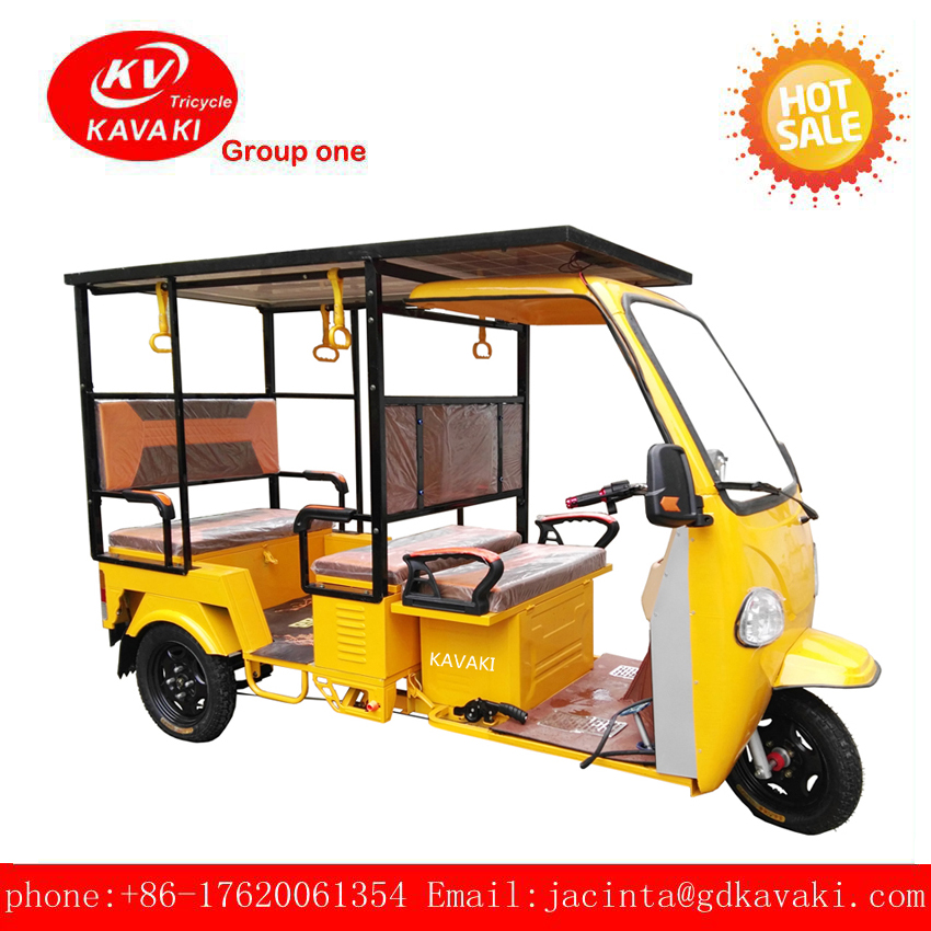 New Model electric three wheel motorcycle and adult passenger tricycle be a tuk tuk bus for sale